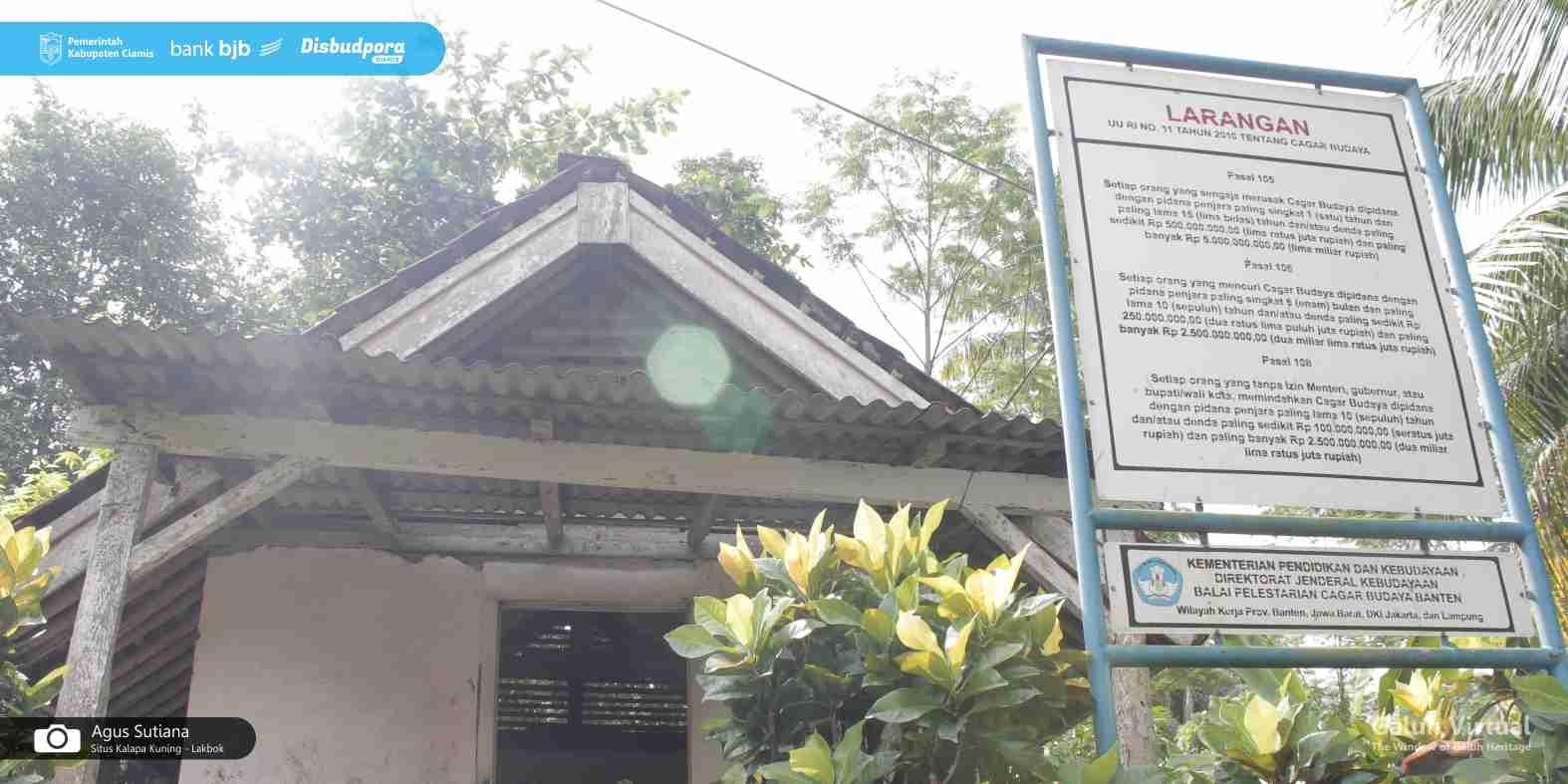 Situs Kalapa Kuning - Lakbok